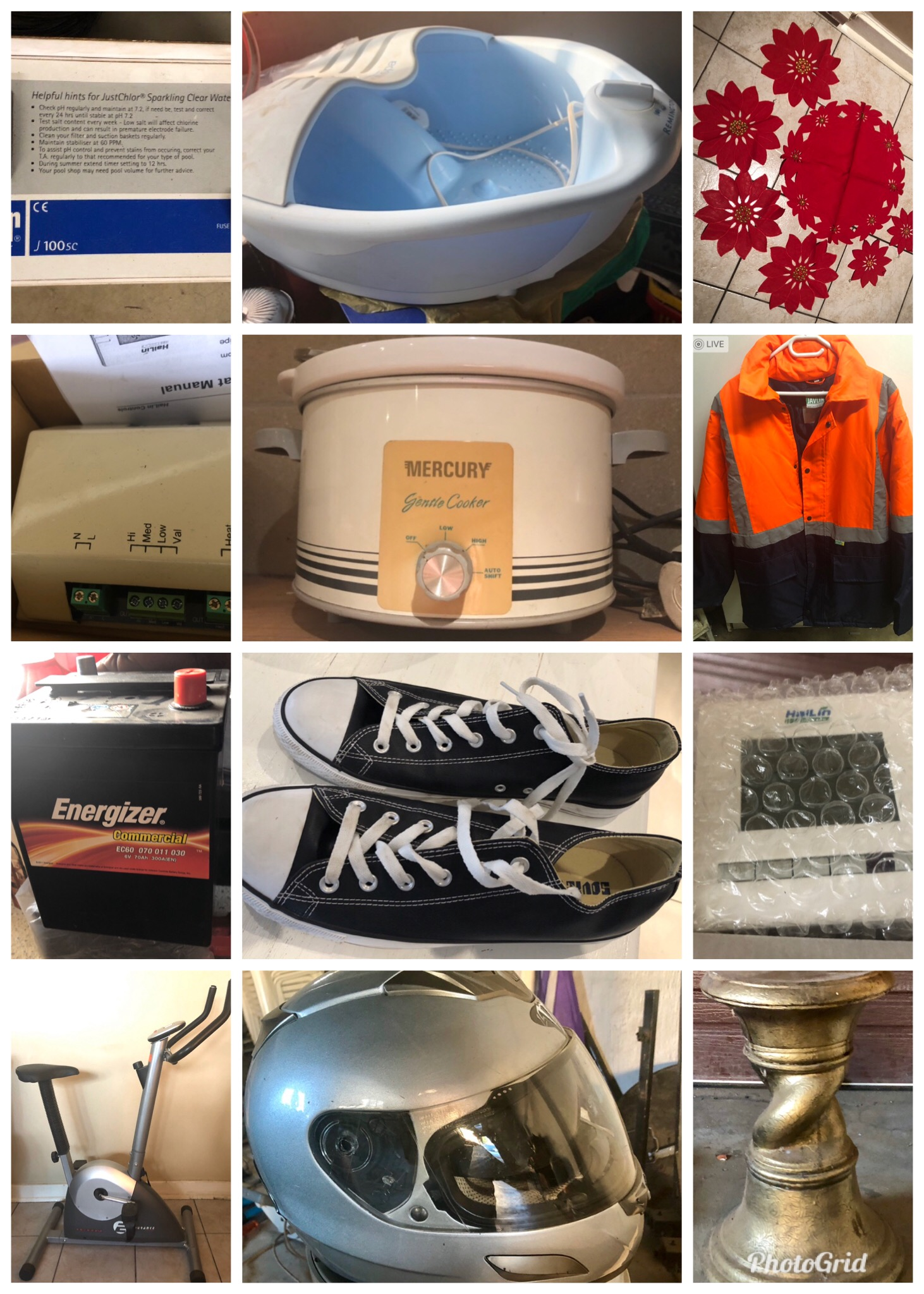 Pre Christmas garage clearance sale