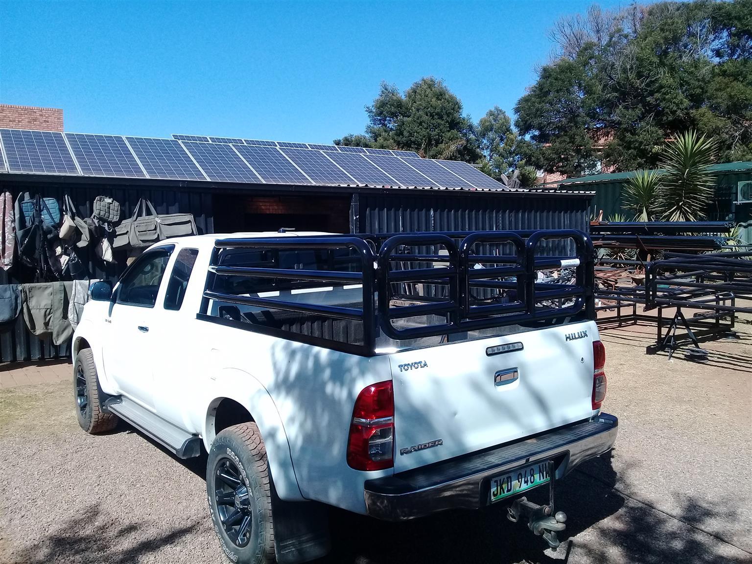 GD 6 Hilux cattle rails