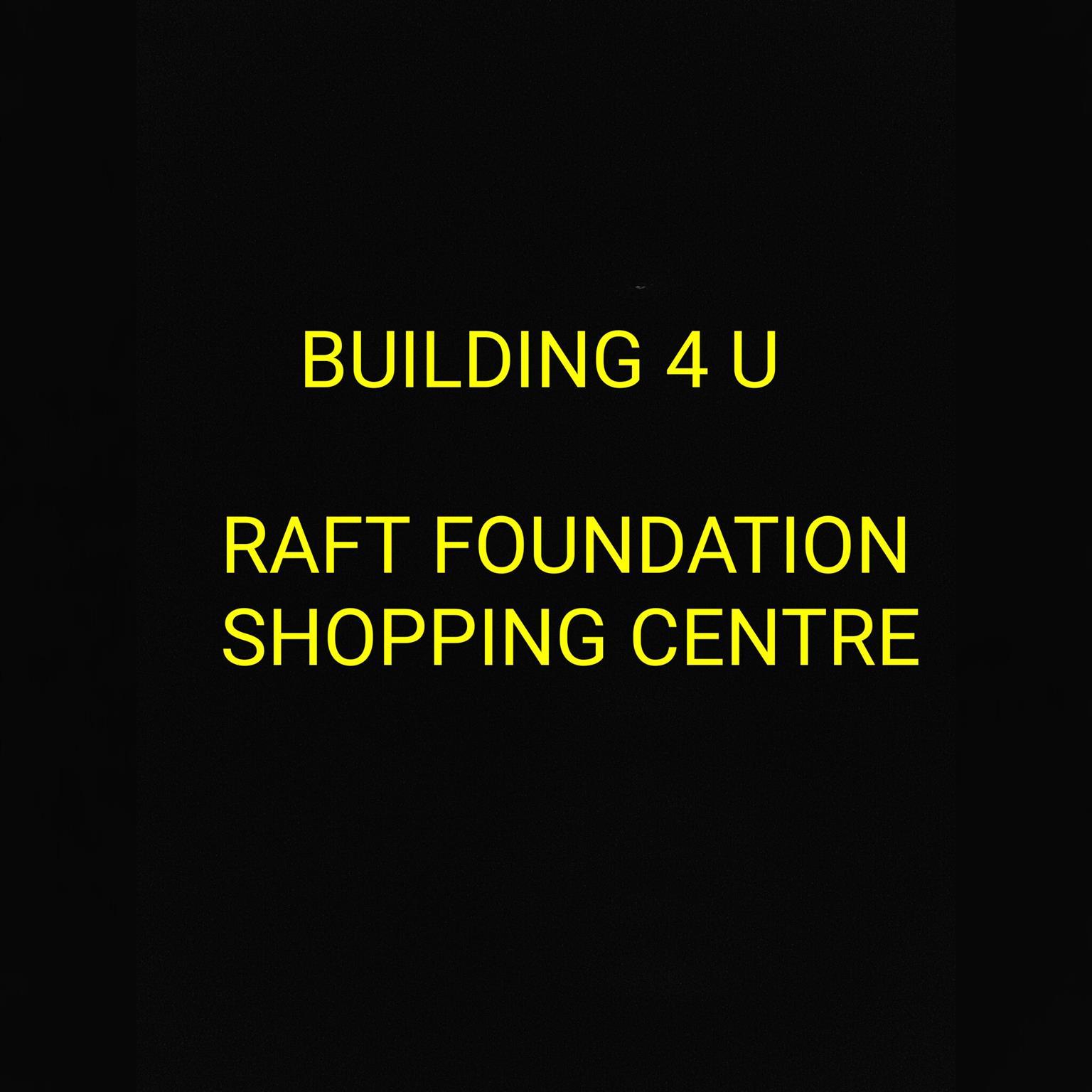 Shopping centre raft foundation building 4 u