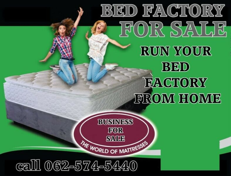 Bed business for sale manufacture beds
