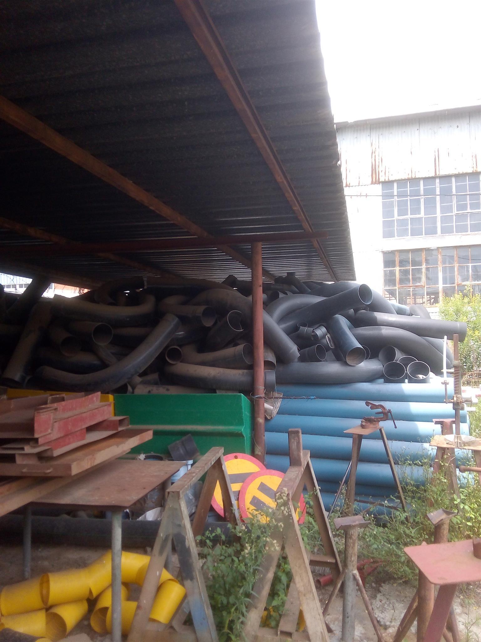 HEAVY DUTY 110MM PVC PIPES & BENDS