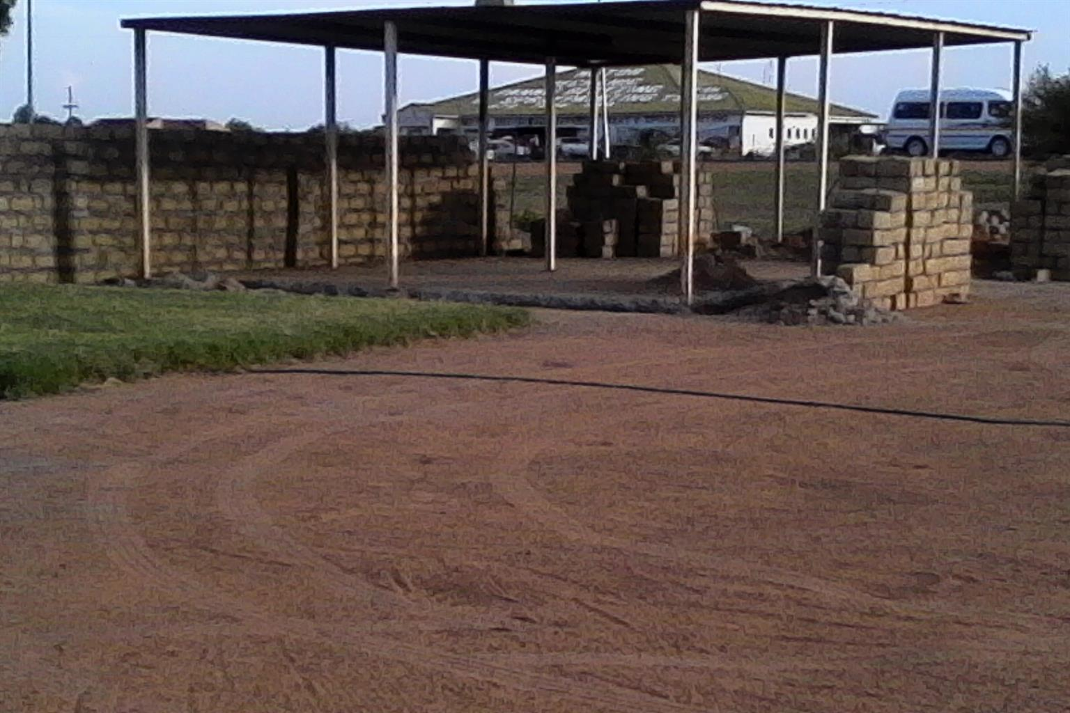Carport/Shelter Structure 9m x 6m