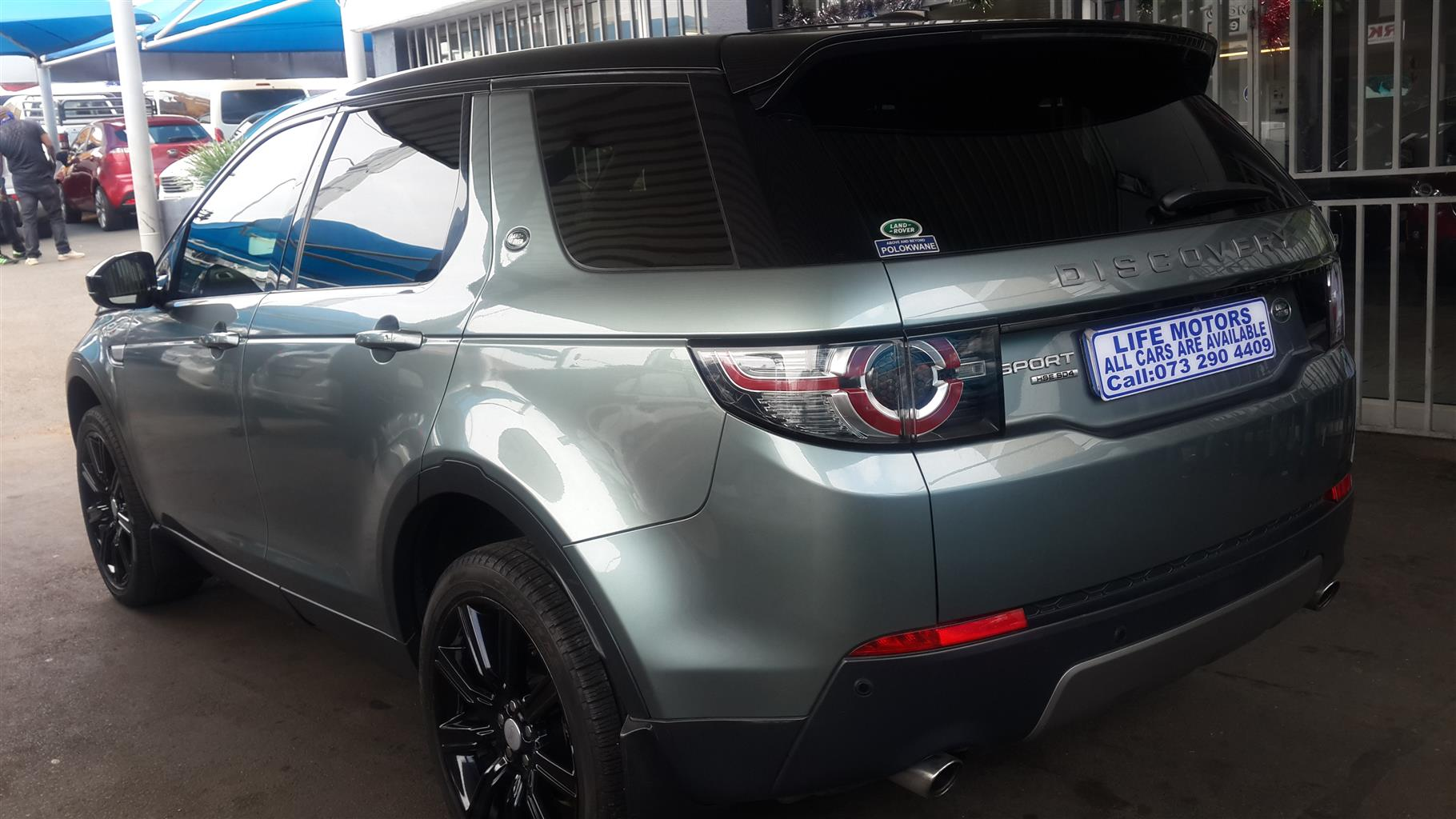 2015 Land Rover Discovery DISCOVERY 2.0D S