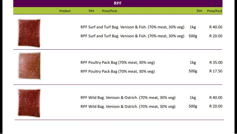 RAW FOOD FOR DOGS & CATS. Vet formulated by Chairperson of the Complementary Veterinary Medicine Group.