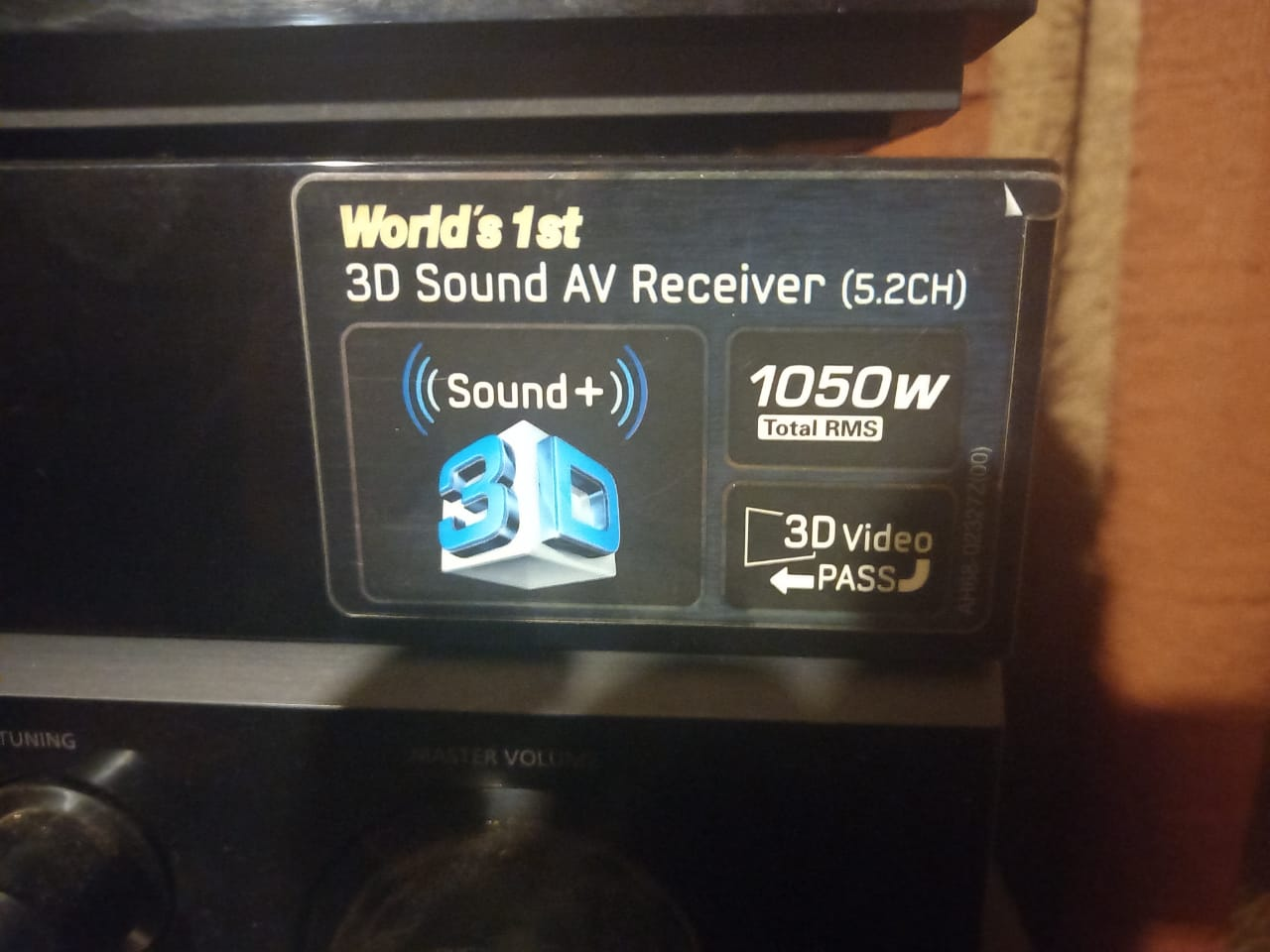 Samsung Surround Sound 3D with full set of speakers 3D player 7 Speakers