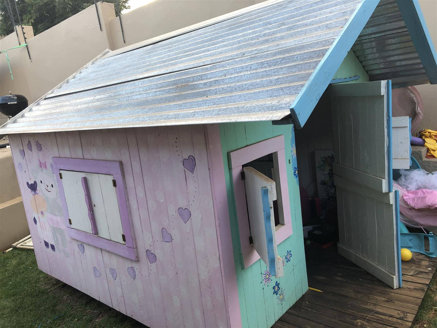 Large Wooden Kids Wendy Playhouse
