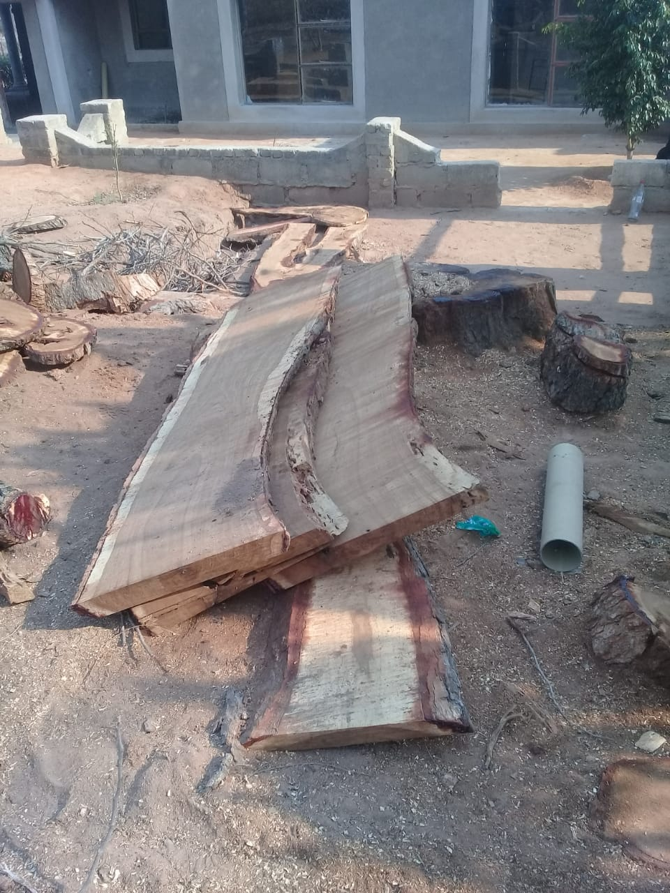 Hard wood live edge furniture custom made to your size