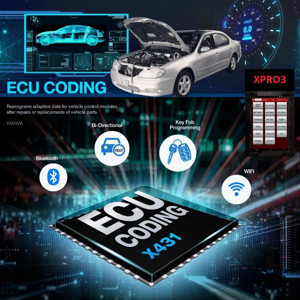 XPRO3™ DIAGNOSTIC, KEY PROGRAMMING & ECU CODING SYSTEM (IN STOCK)
