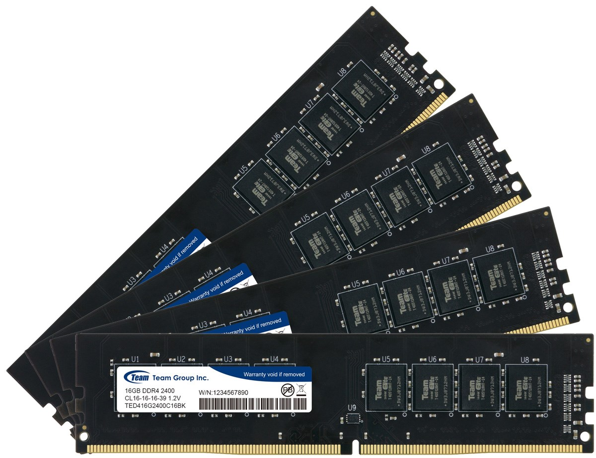 TeamGroup 16GB 2400MHz DDR4 Desktop RAM