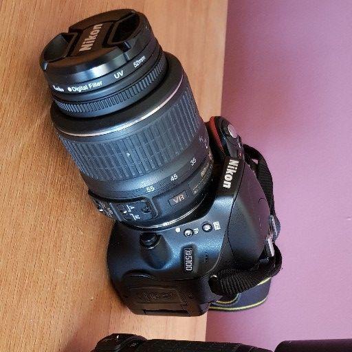 Nikon D5100 and lenses