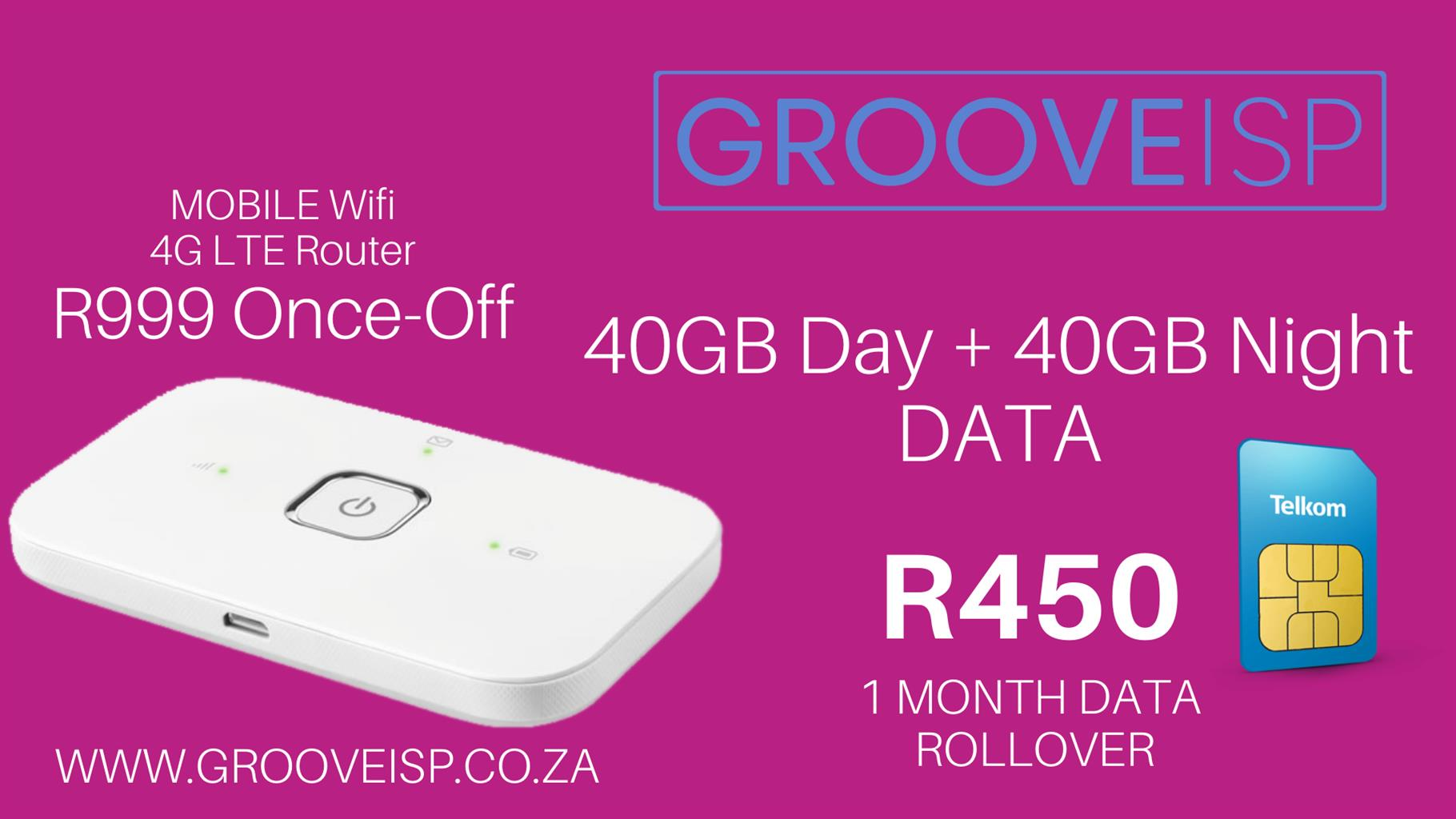 Telkom Mobile Wifi LTE Data Deals