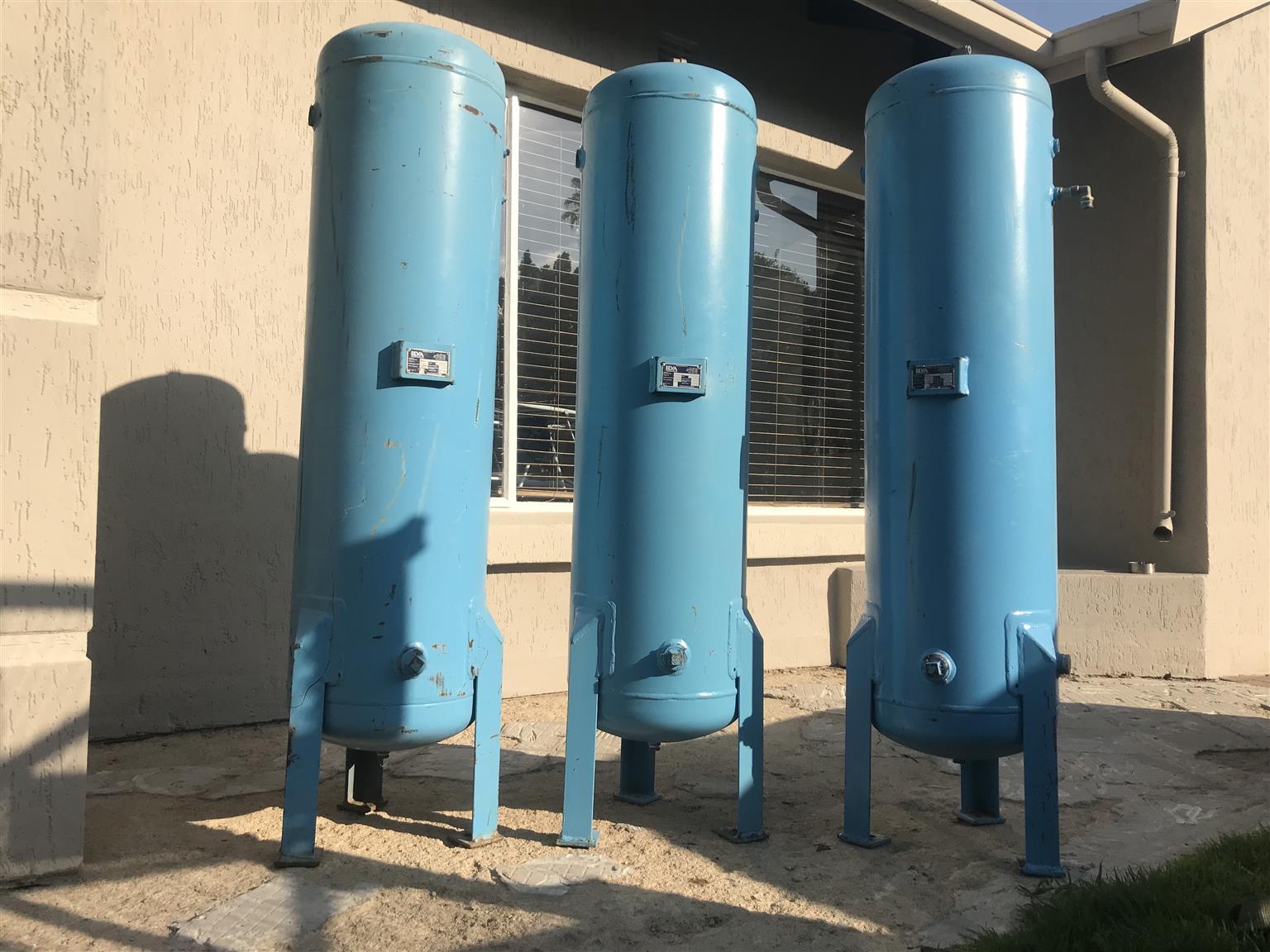 X3 compressor collector tanks!!!