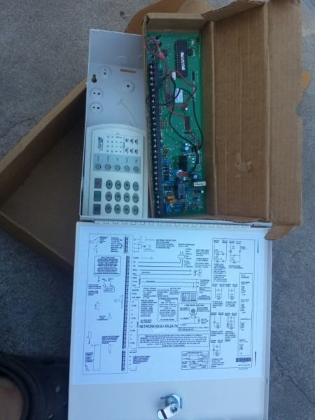 Alarm panel Interlogix Networx NX-8 Security Control Panel NX-8 in as new condition