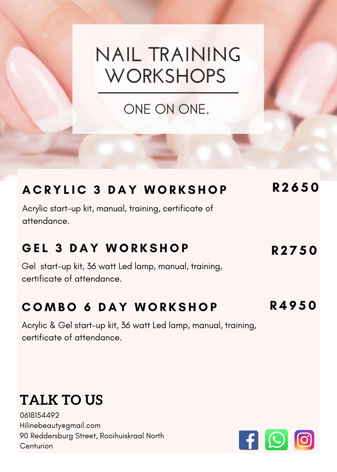 Nail Training Workshops
