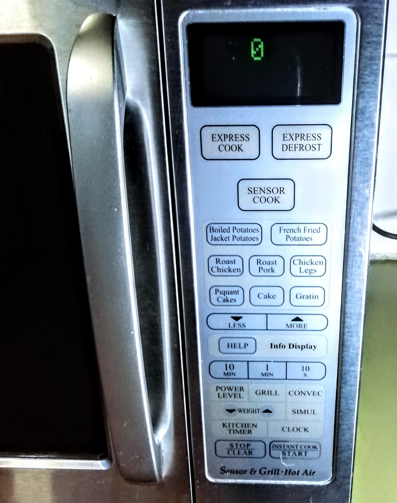 Sharp Convection Smart Microwave
