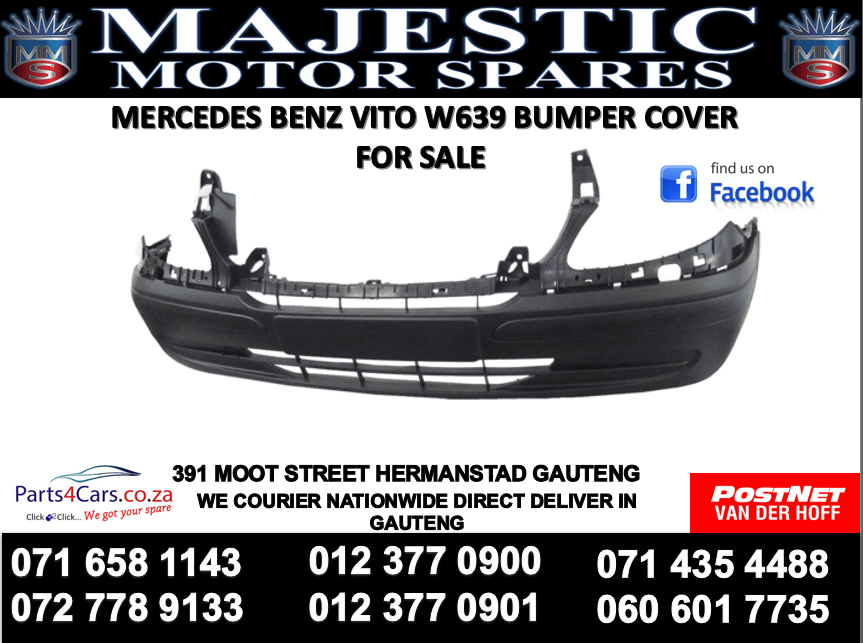 Mercedes benz W693 bumper for sale