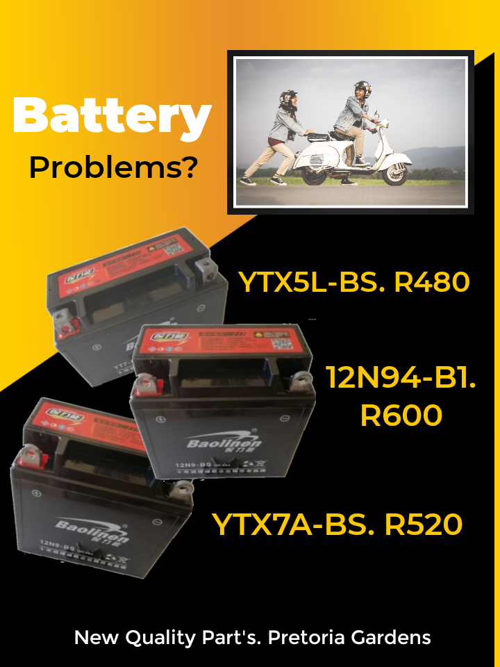 Affordable Motorcycle and Scooter Batteries