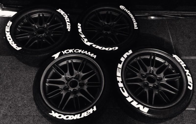 Tyre Lettering