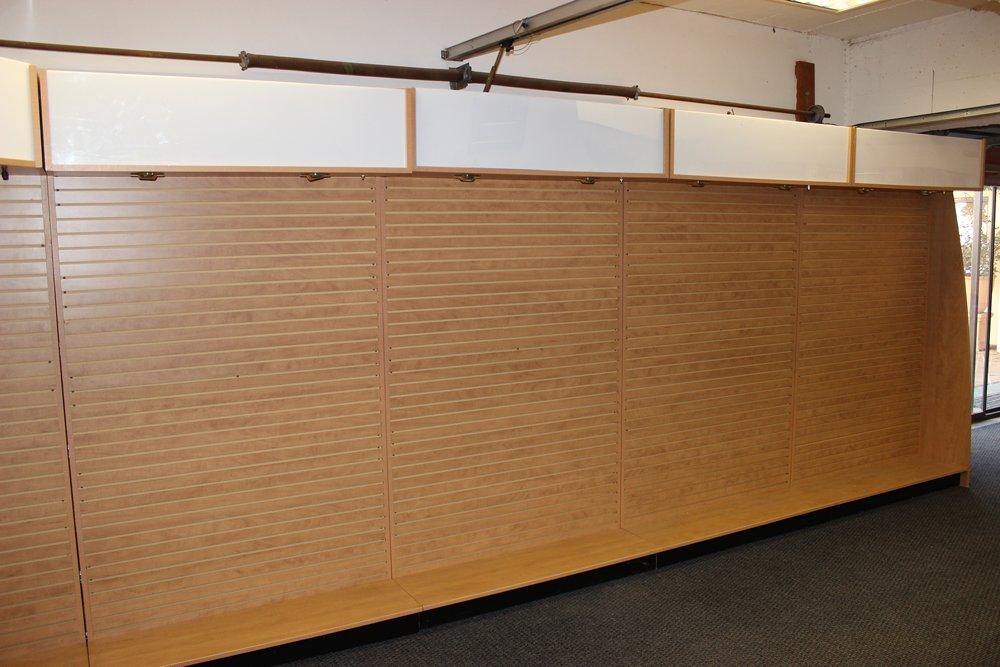 Shop fittings -