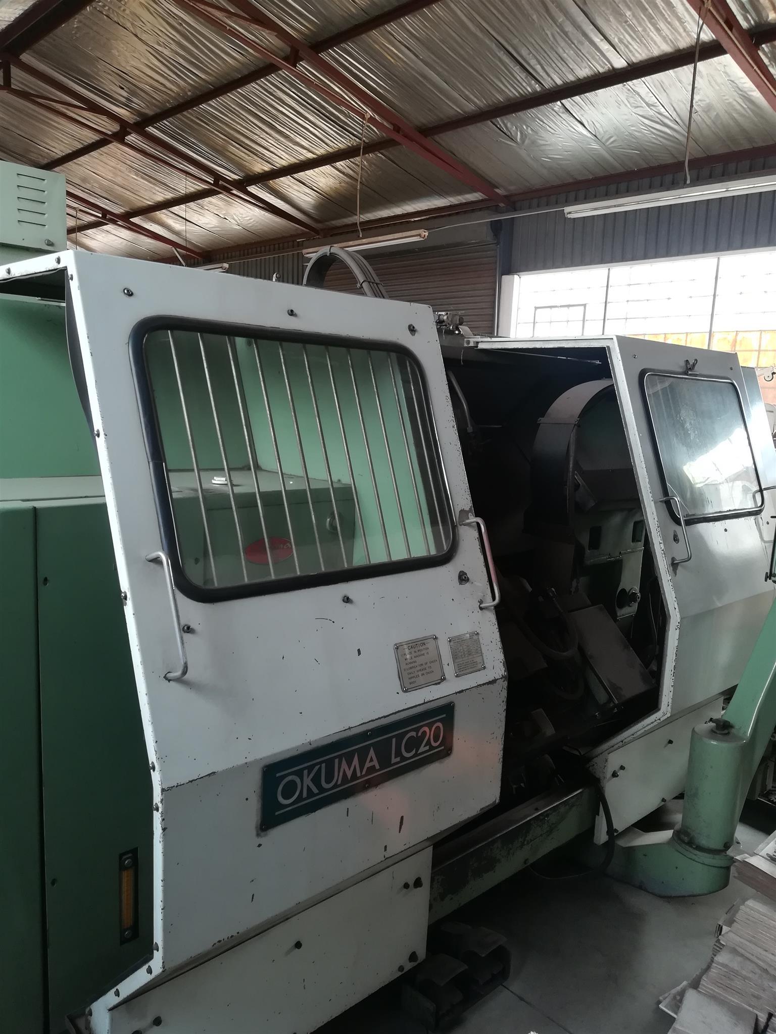 Okuma CNC lathe for sale