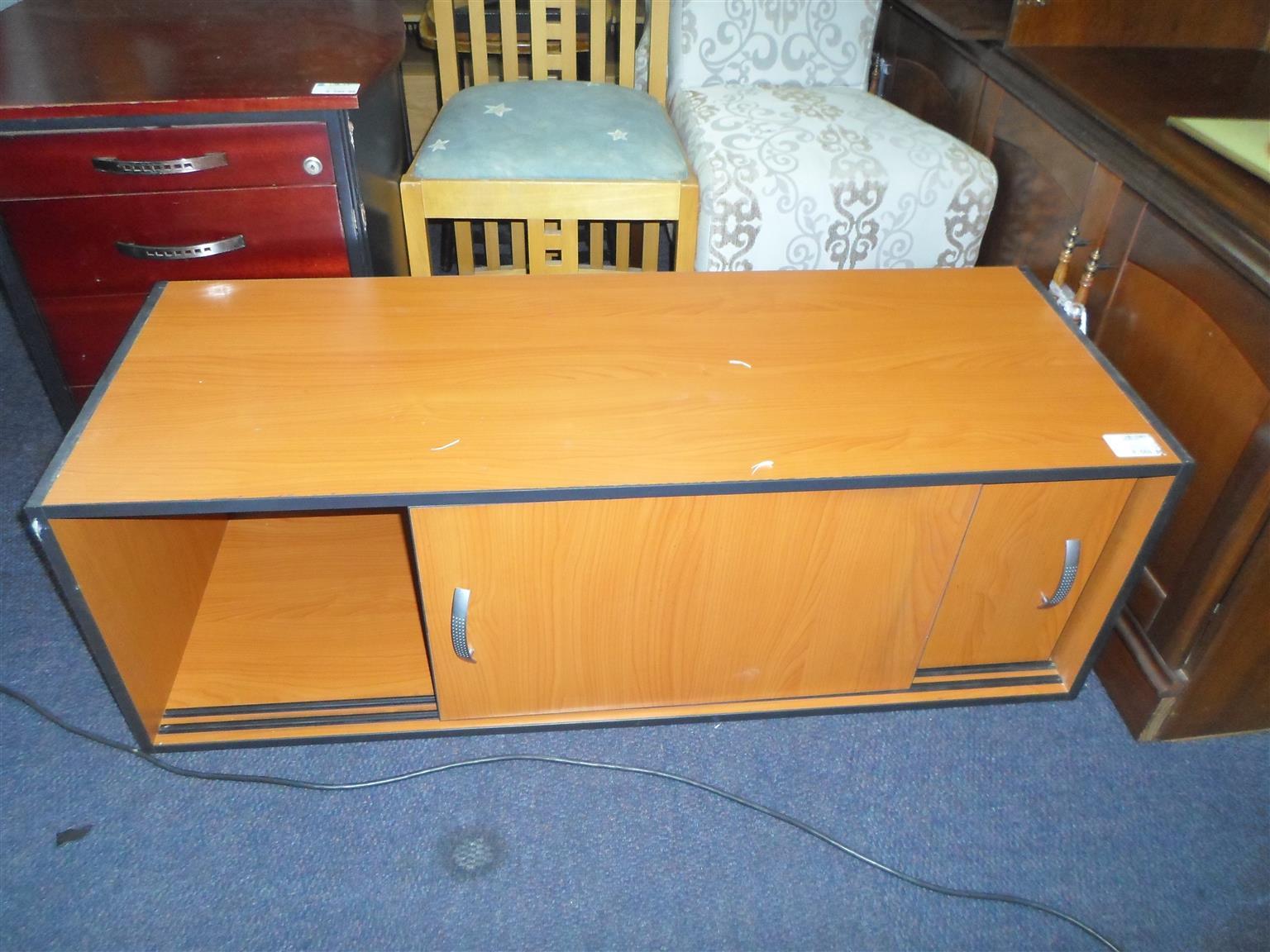 Wooden Sliding Door Office Cabinet