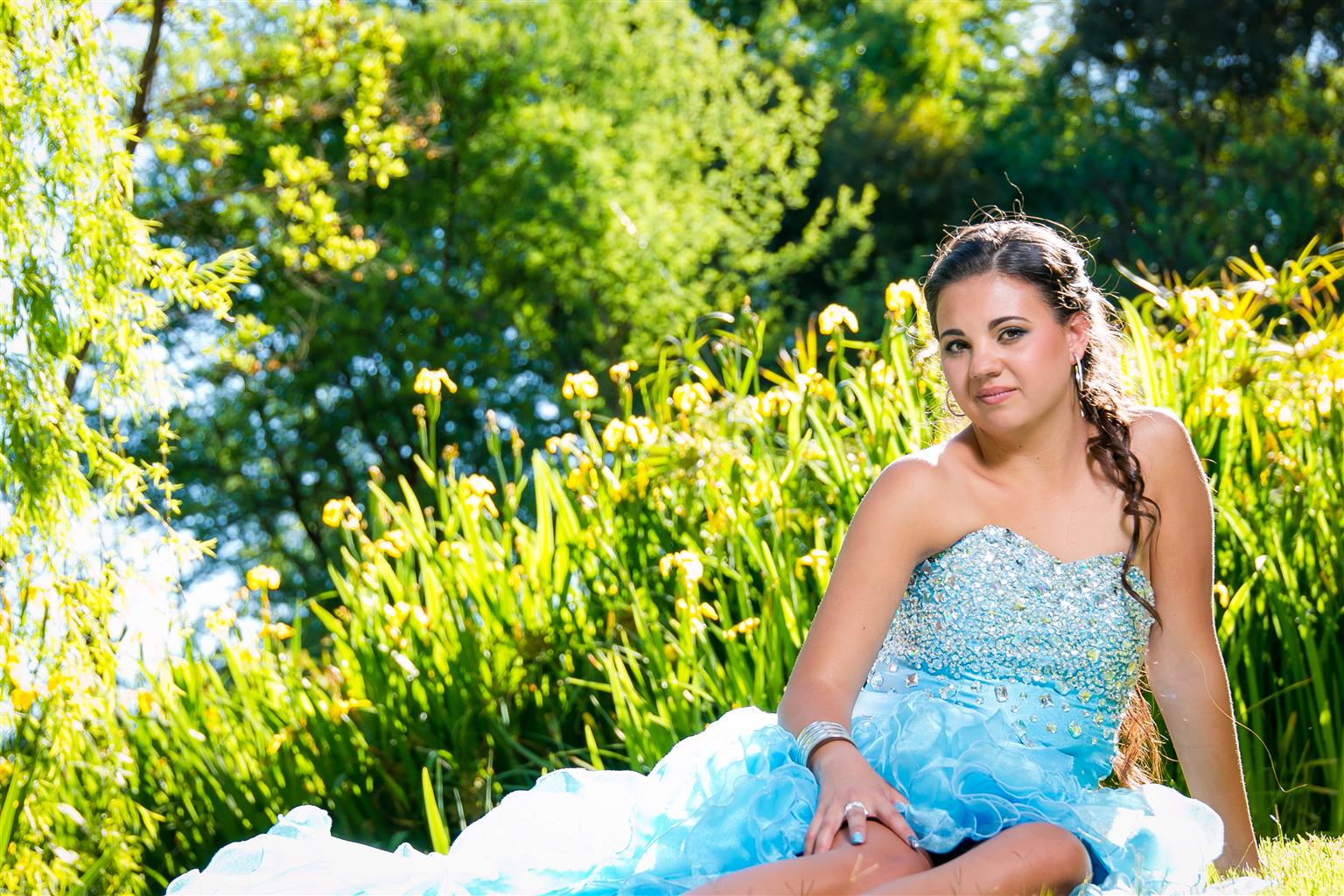 Designer matric farewell dress