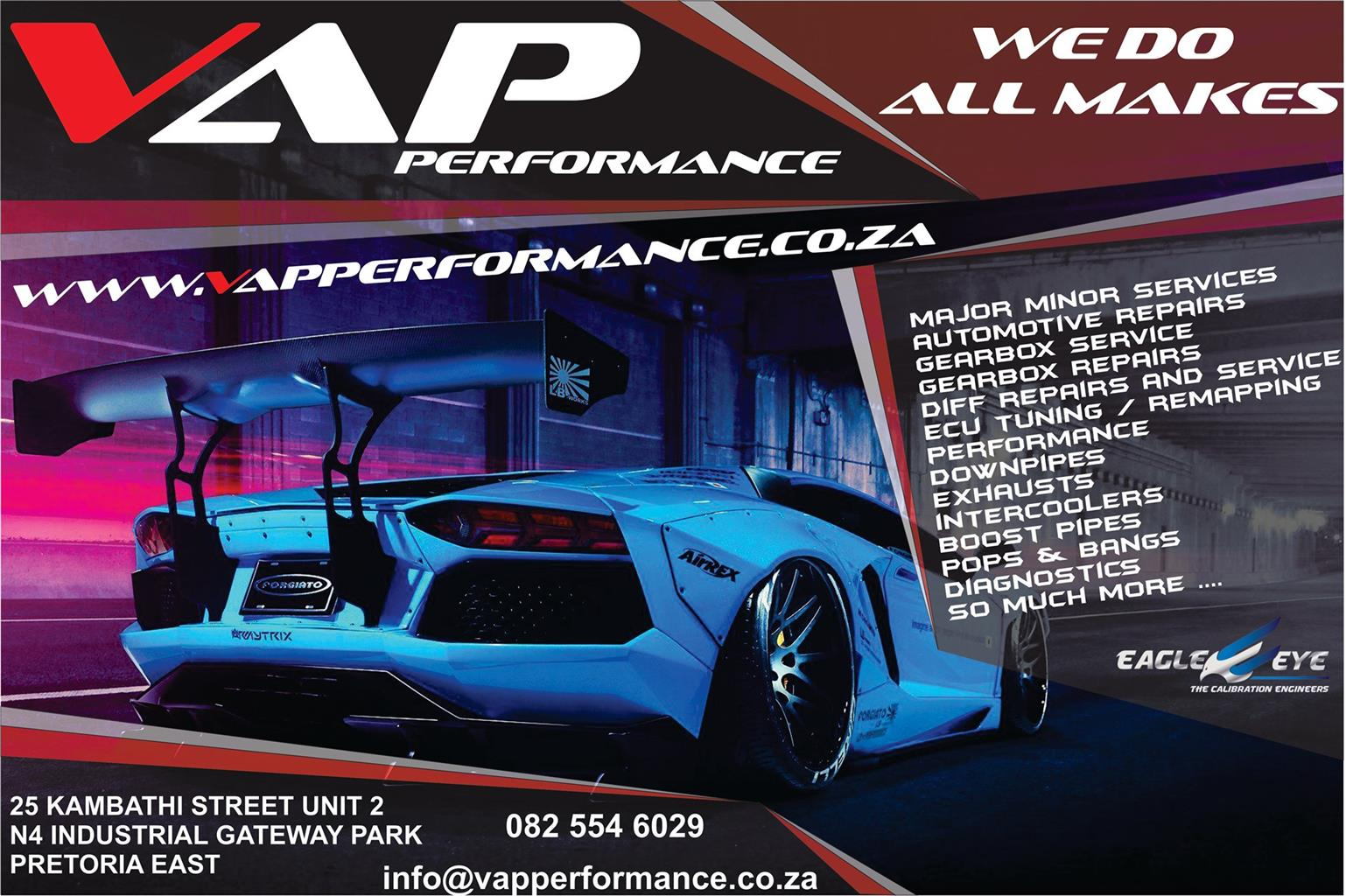 Automotive Repair, Service and Performance center