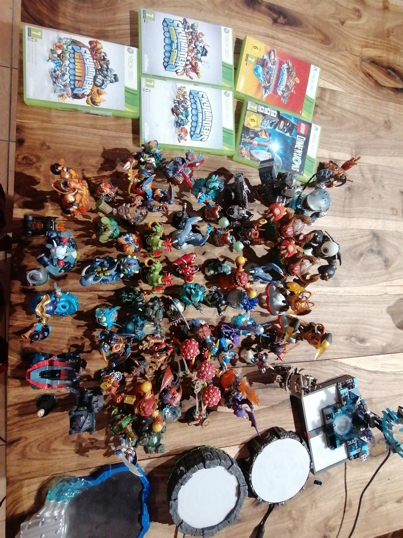 Skylanders and Dimensions games and accessories for sale