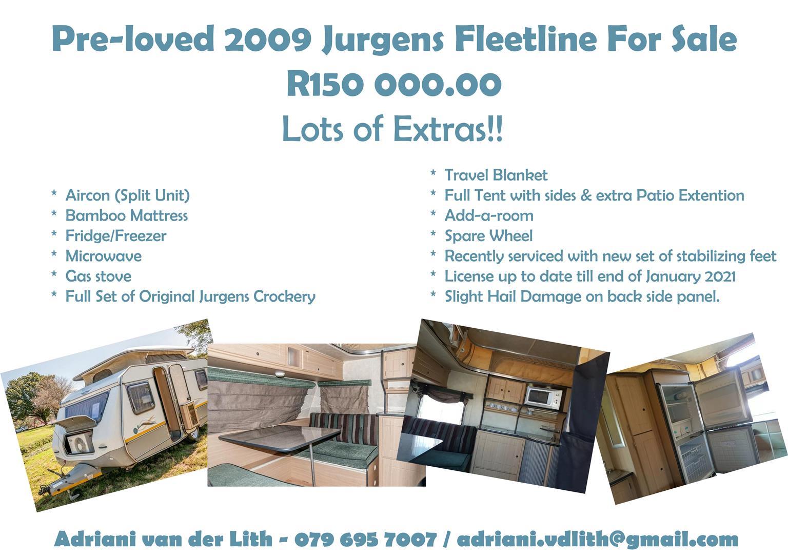Pre-loved 2009 Jurgens Fleetline