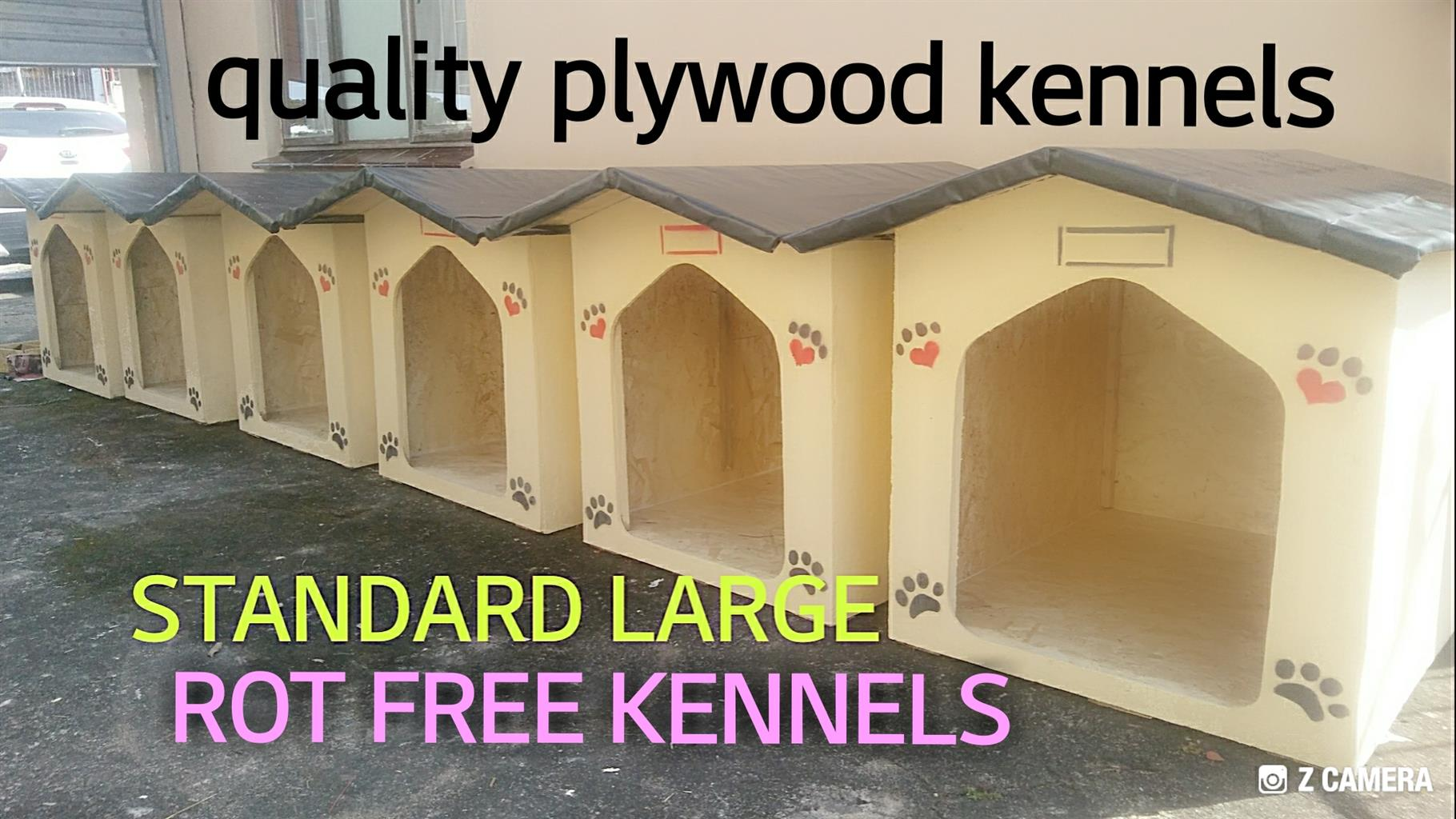 Rot free Dog. Cat kennels