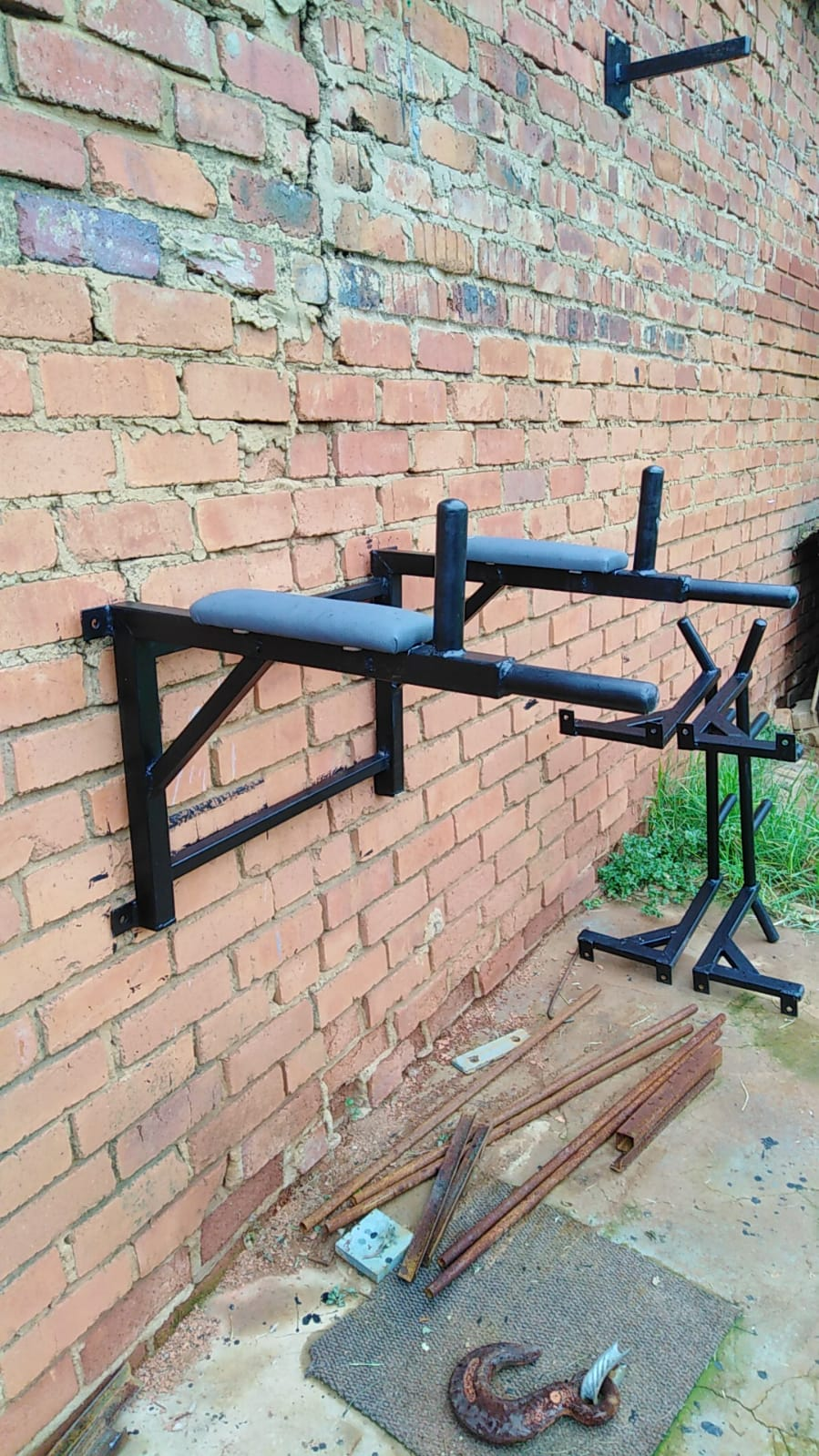 Custom built Pull Up Bars, Dip station, Cross Bow Brackets and Push up handles for sale