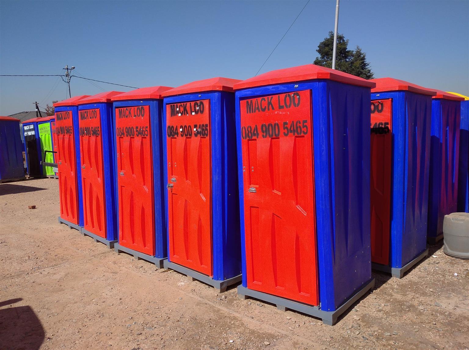 Mack Loo Toilet Hire + Sales - Best Prices
