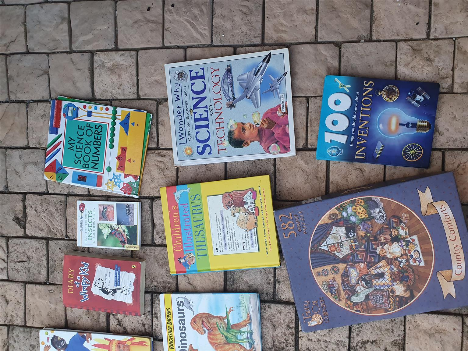 Selection of children's books for sale