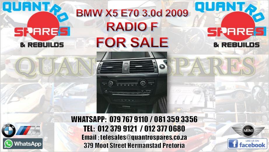 bmw x5 radio for sale