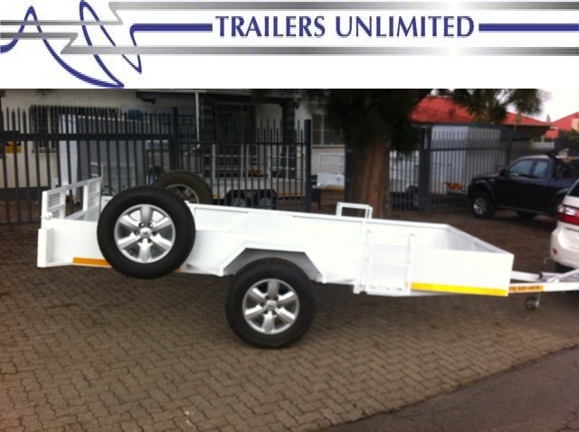TRAILERS UNLIMITED CUSTOM BUILD SIDE BY SIDE TRAILER.