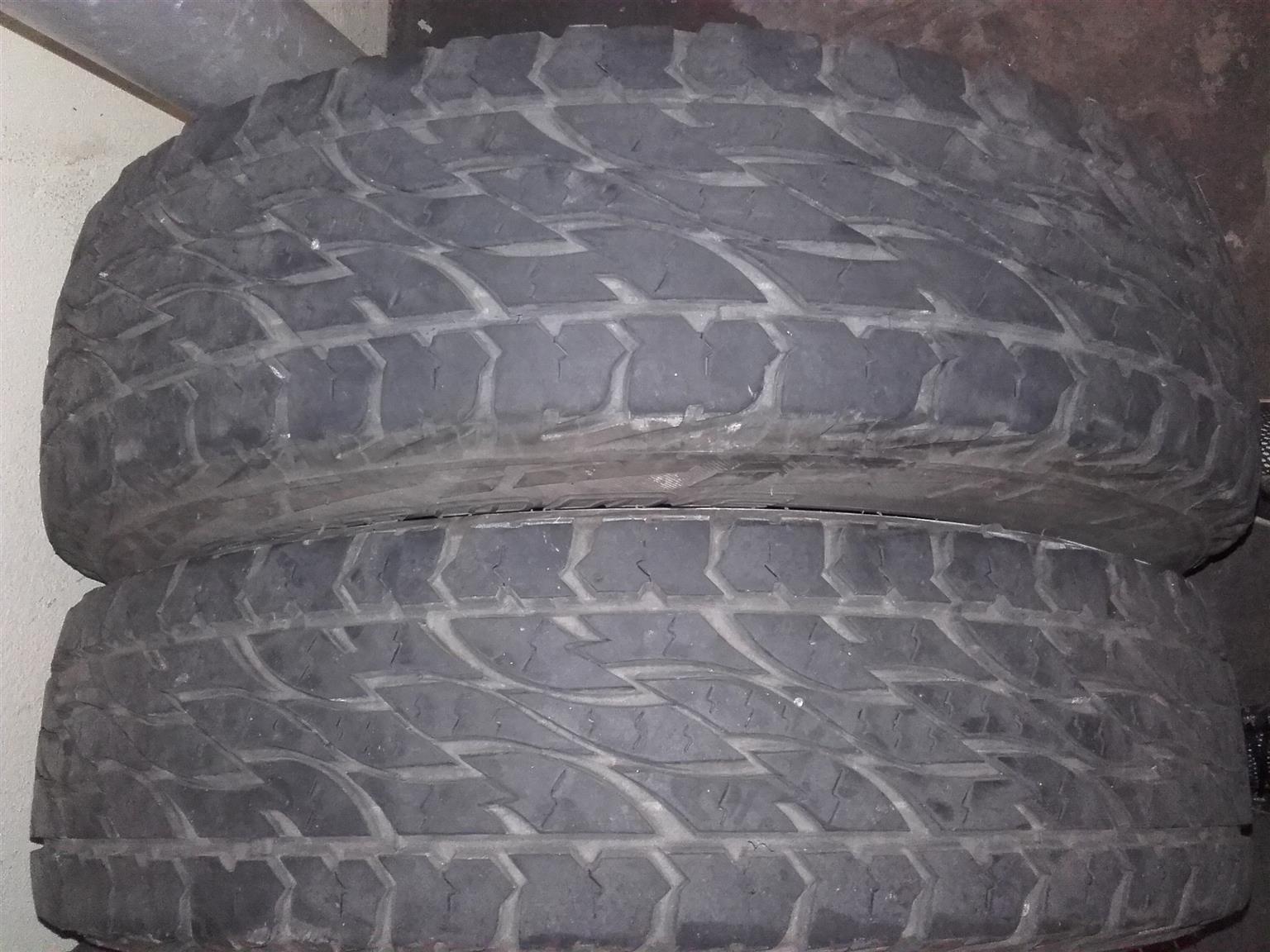 Bakkie Tyres for Sale