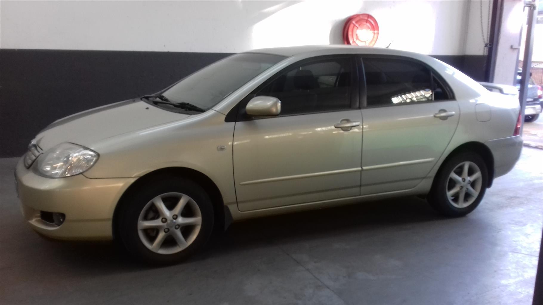 2005 Toyota Corolla 180i GSX