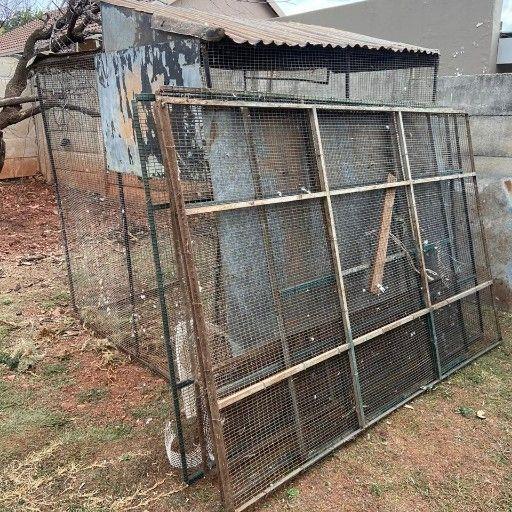 big bird cages.