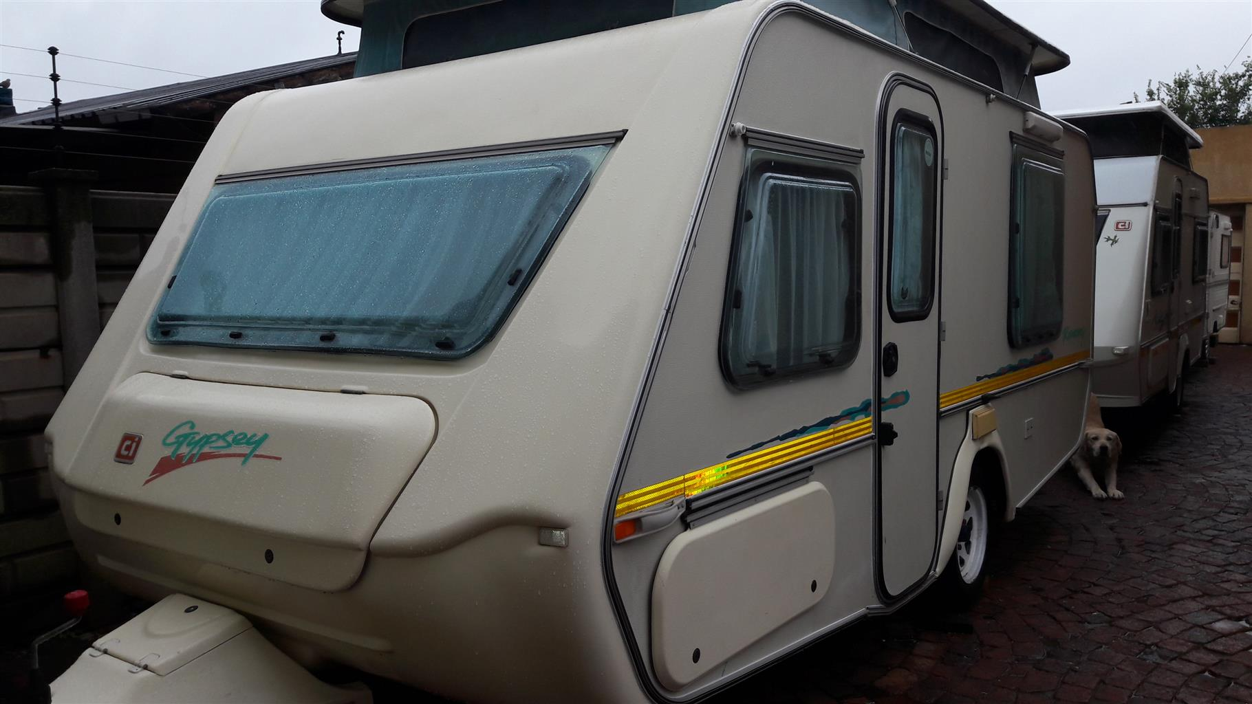 GYPSEY ROMANY 1998 MODEL IN VEREENIGING WITH FULL TENT AND RALLY TENT