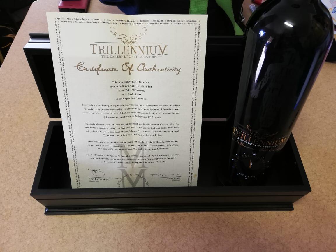 Trillennium - The Cabernet of the Century