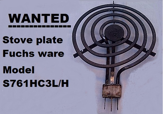 WANTED : STOVE PLATE