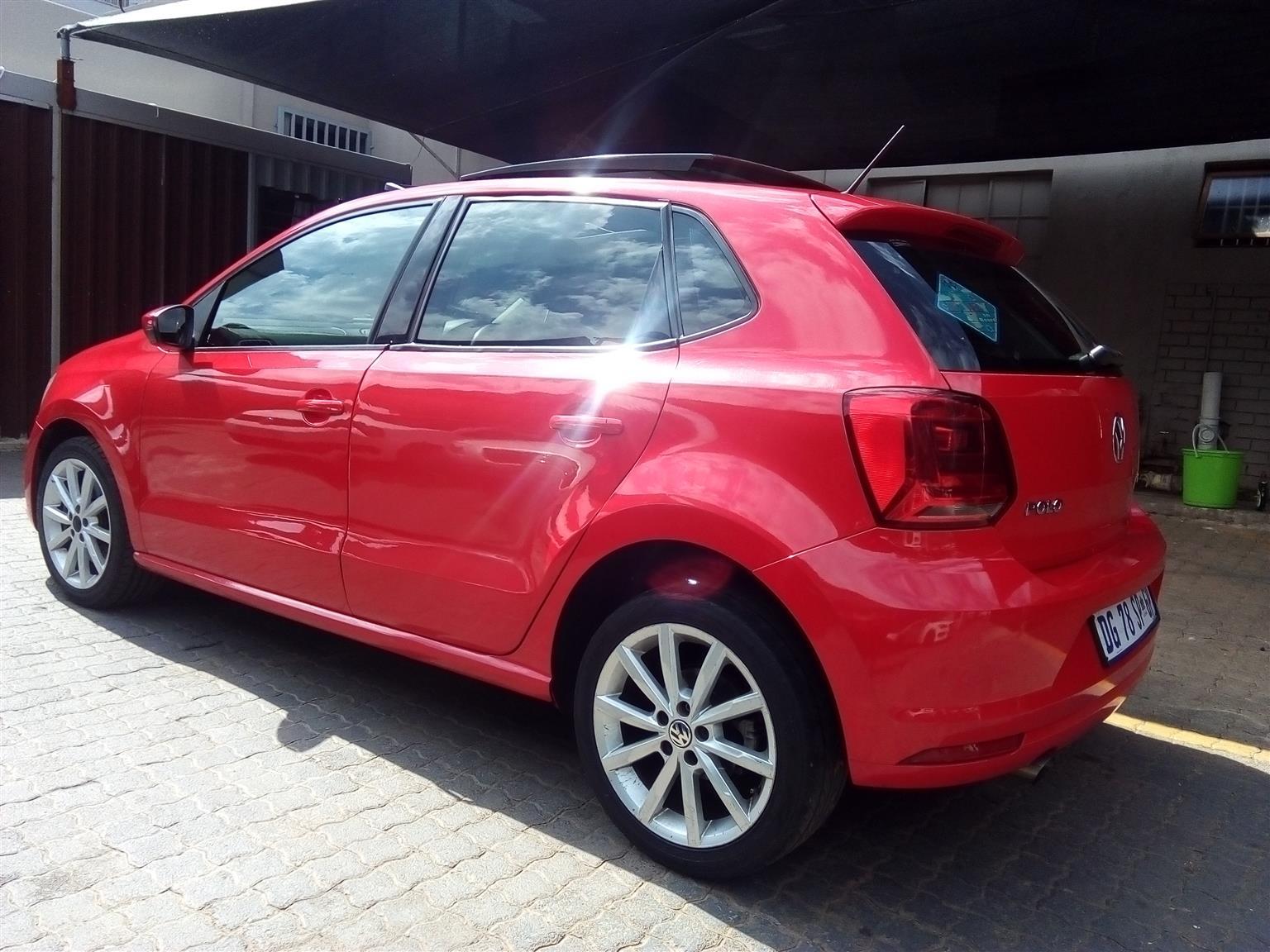 2014 VW Polo 1.2TSI Comfortline