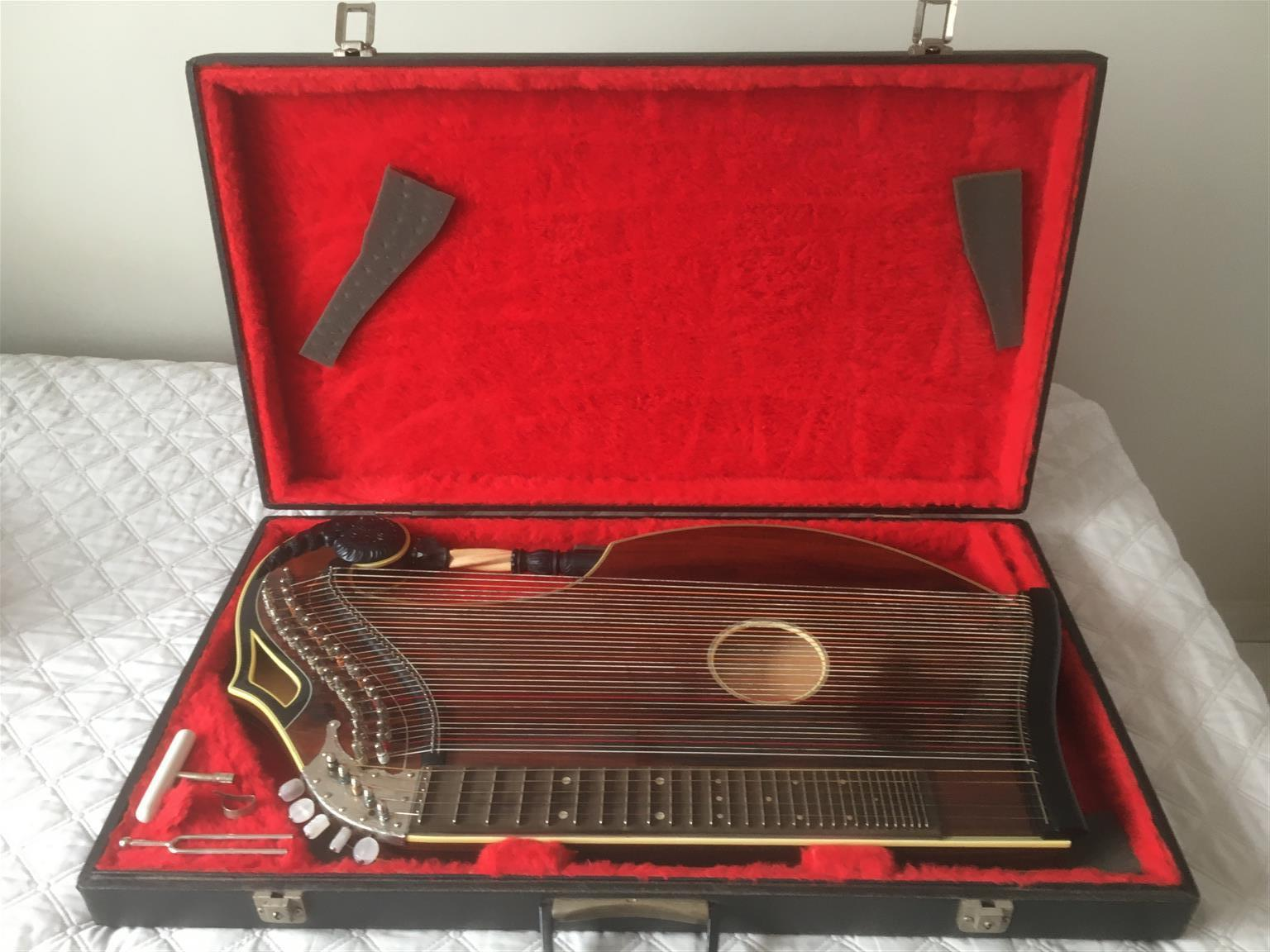 Zither, Concert