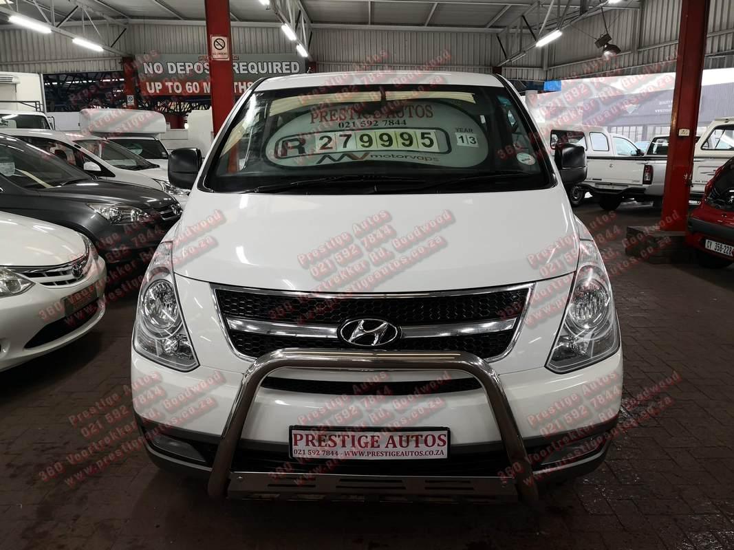 2013 Hyundai H1 H 1 2.4 wagon GLS