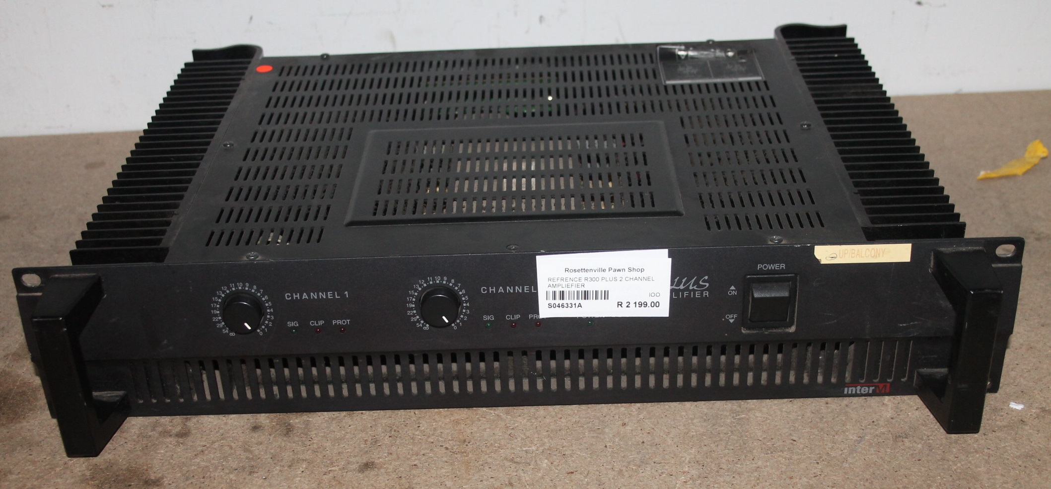 Reference r300 plus 2 channel amp S046331A #Rosettenvillepawnshop
