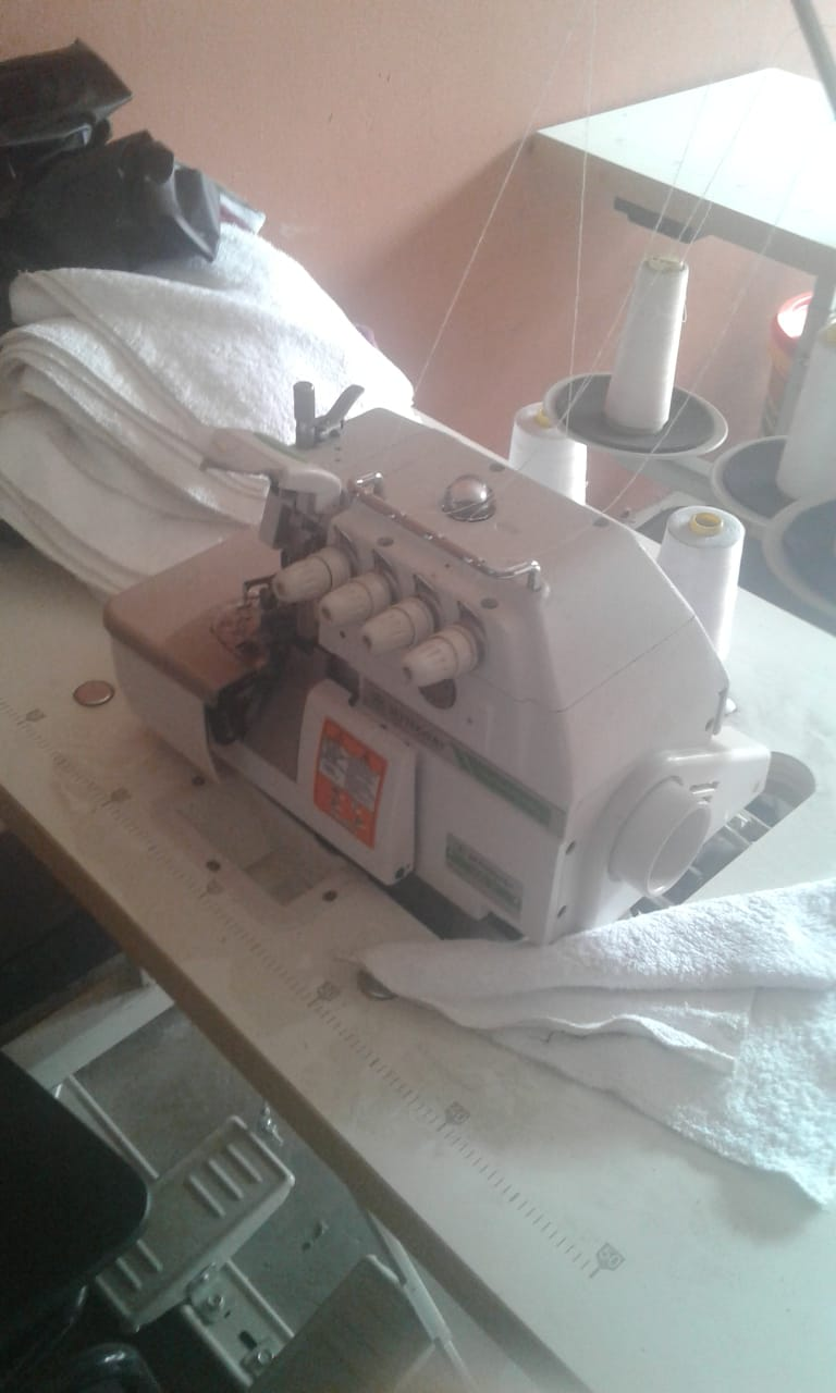 Urgent Sale!!! 3x Brand new  Industrial sewing machines(Betterway) with tables, cutter and cotton. One sewing machine is for leather. Bought in February this year and only used once. A bargain R18 000 for all. Must go!!!