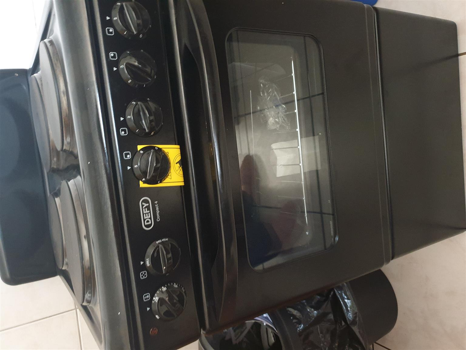 Defy stove and oven brand new