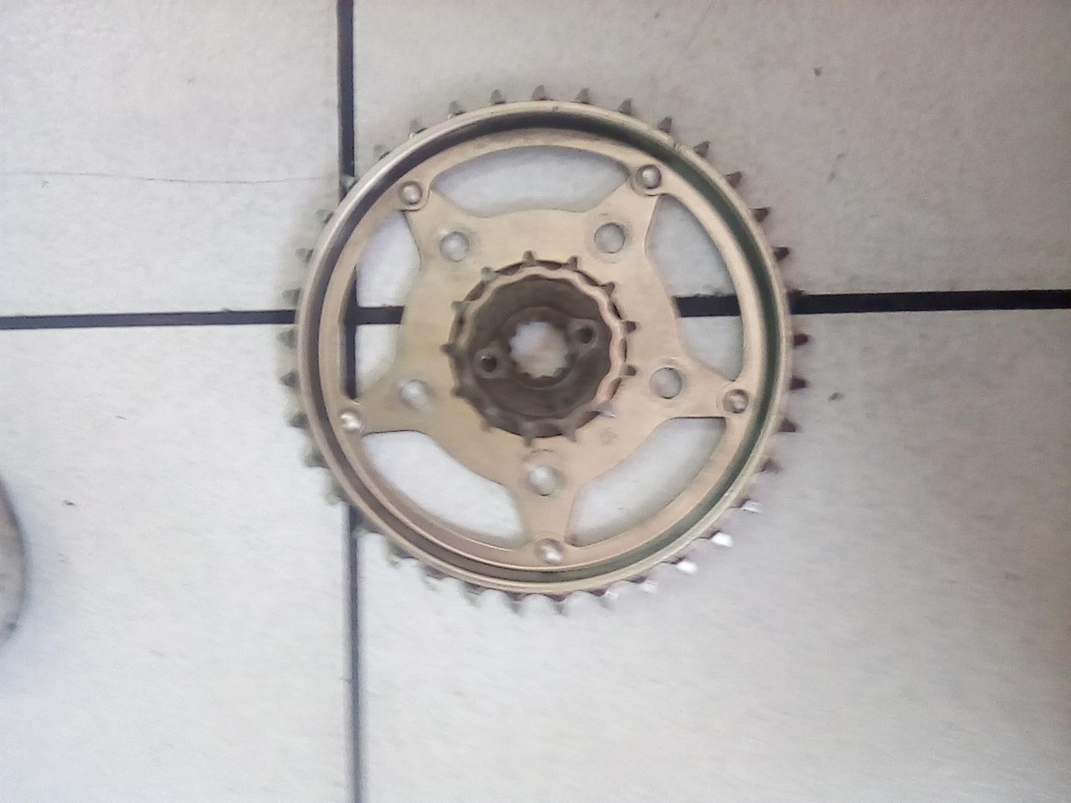 Ace front and rear sprocket