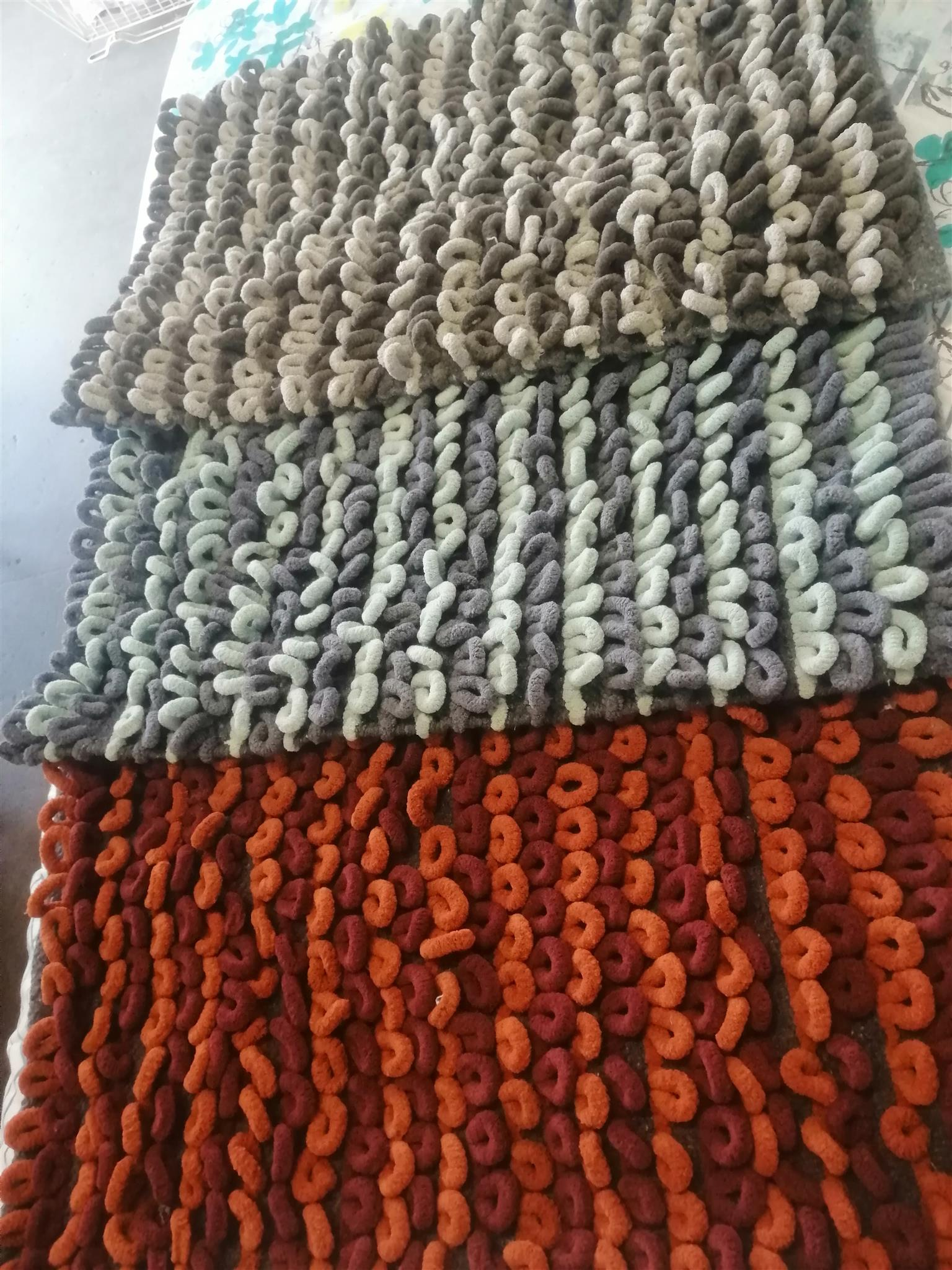 Rugs and cotton throws