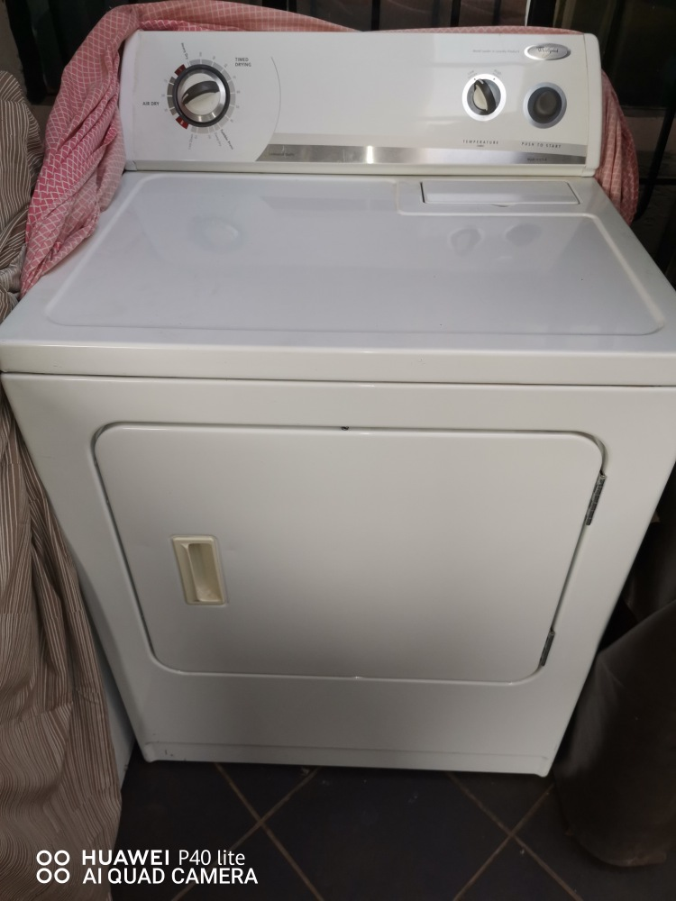 EXCELLENT CONDITION FULLY REFURBISHED WHIRLPOOL – TUMBLE DRYER (2ND HAND)